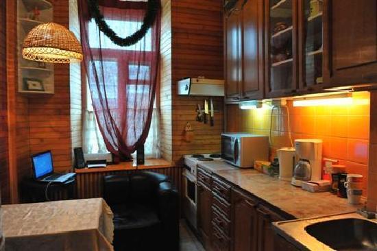 Nova Hostel: Kitchen
