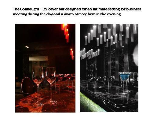 Radisson Blu Marina Connaught Place: Bar