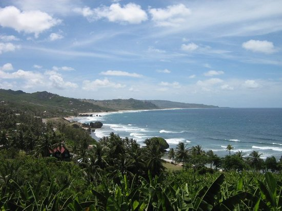 Bathsheba, Barbados: View of Soup Bowl a block from Sea U
