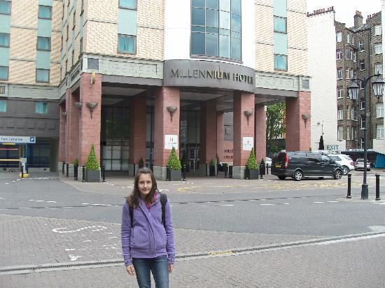 Millennium Copthorne Hotels At Chelsea Football Club In Front Of The Hotel