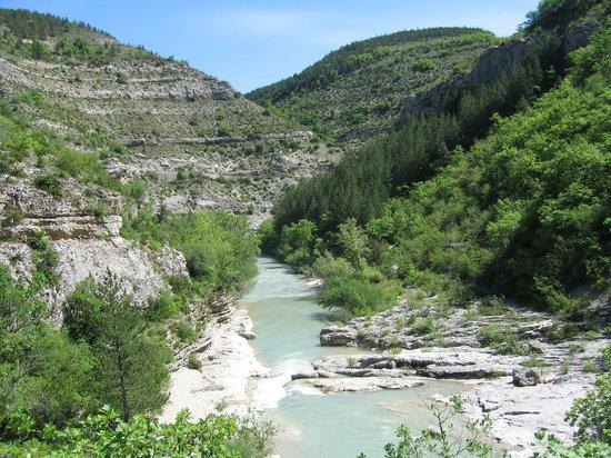Hautes-Alpes, Francia: Rivière gorges de la Méouge