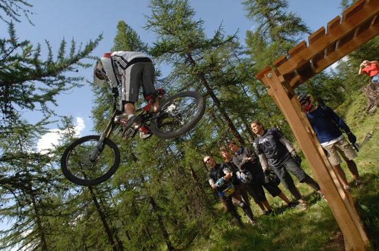 Hautes-Alpes, Frankrijk: VTT vélo dirt Montgenèvre