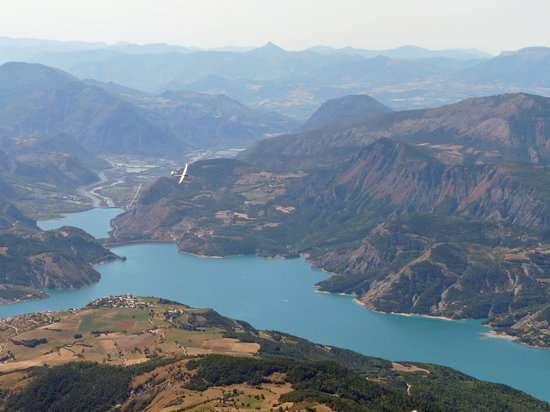 Hautes-Alpes, Γαλλία: Planeur Tallard savines