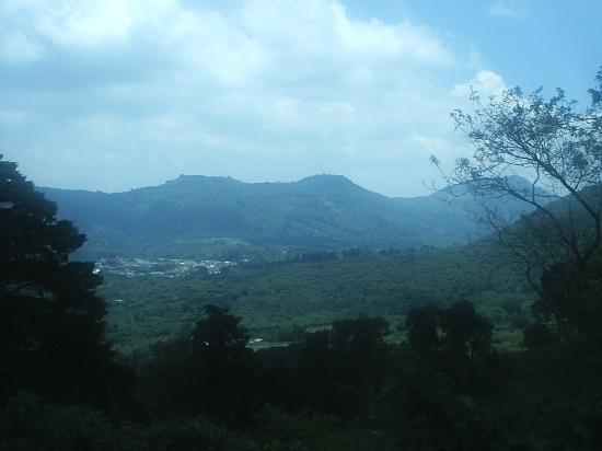 One of the views from Apaneca Volcano