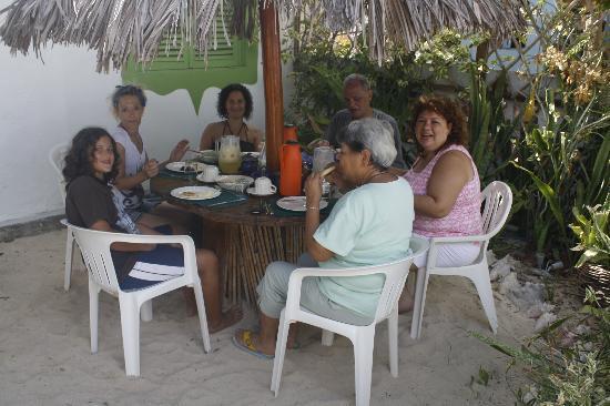 Posada El Botuto: Un buen desayuno para luego ir a la playa