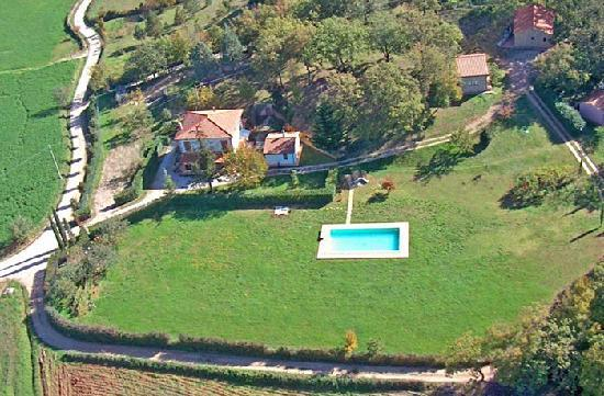 Agriturismo San Michele: Foto aerea