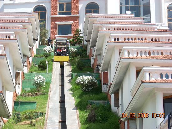Sagar Holiday Resorts: View from down