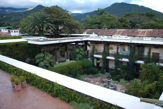 Hotel Museo Spa Casa Santo Domingo: Vista desde la azotea de una de las zonas del hotel