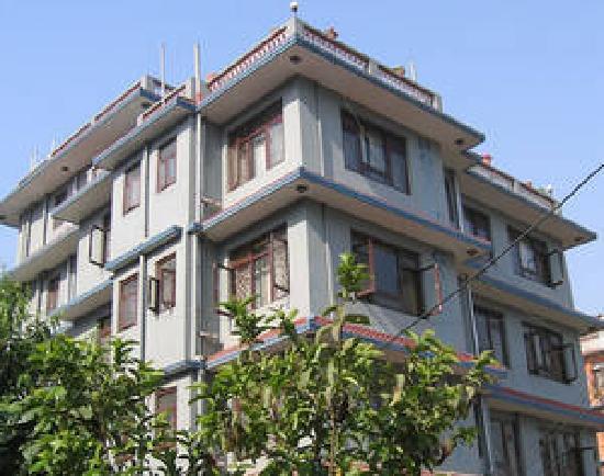 Ganesh Palace Hotel : a view