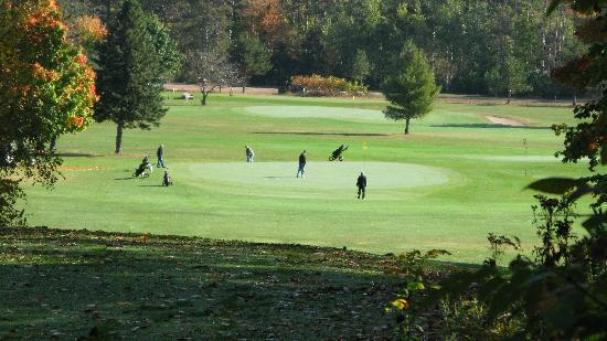 RIB Mountain Inn: Golfing