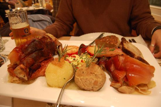 Loewenbraeu: Cosa abbiamo mangiato
