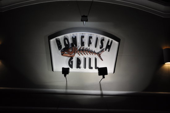 Bonefish Grill: Business Sign