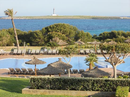 Punta Prima, Spanien: The view from near the bar
