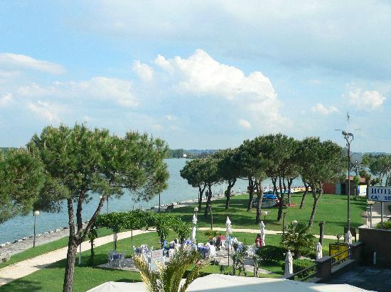 Hotel Belvedere: Blick von unserem Balkon