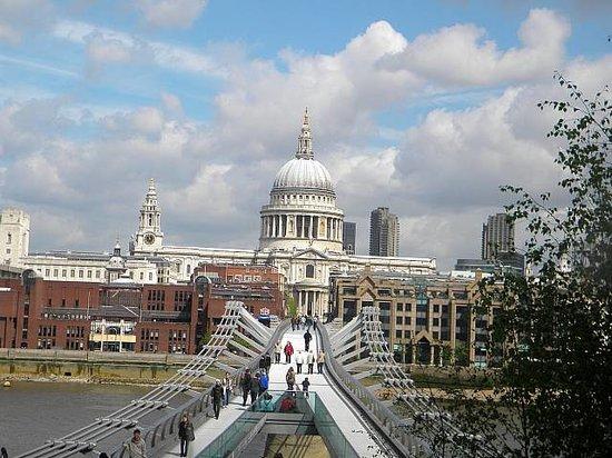 Crowne Plaza London The City: St Paul's from the Millenium Bridge