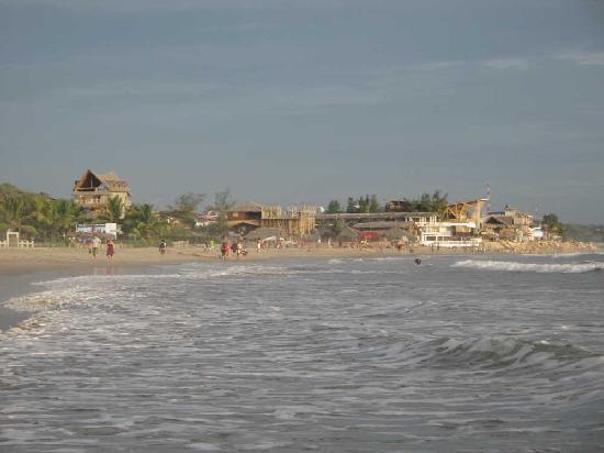 Montanita, Ekwador: playa de montañita