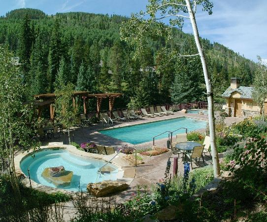 Antlers at Vail pool