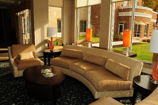 Hilton Garden Inn Lynchburg: Lobby (photo taken on an earlier stay, in 2009)