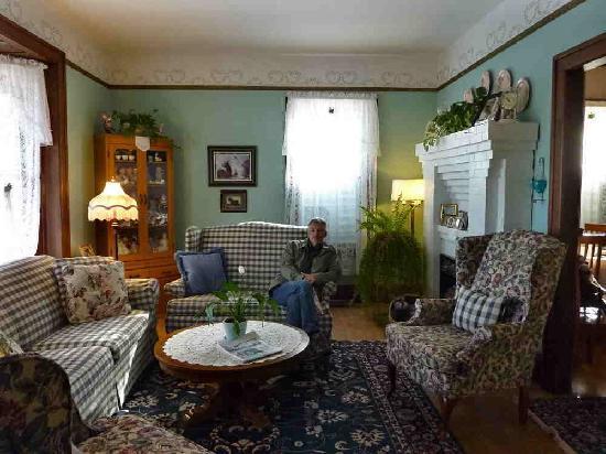 Blue Gull Inn Bed & Breakfast: Le salon des invités
