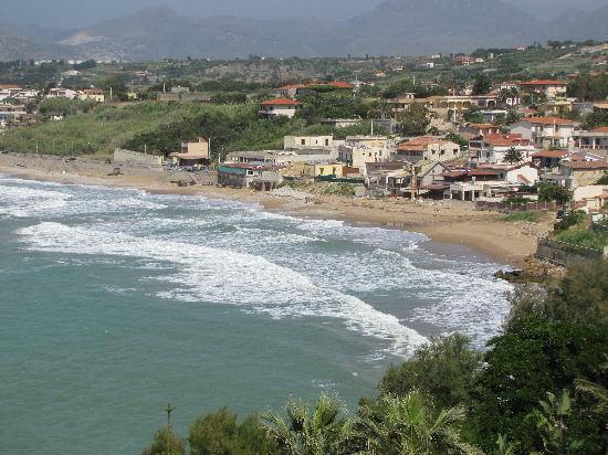 Trappeto, Italie: View