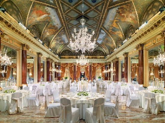 The St. Regis Rome : The St. Regis Grand Hotel - Ritz ballroom