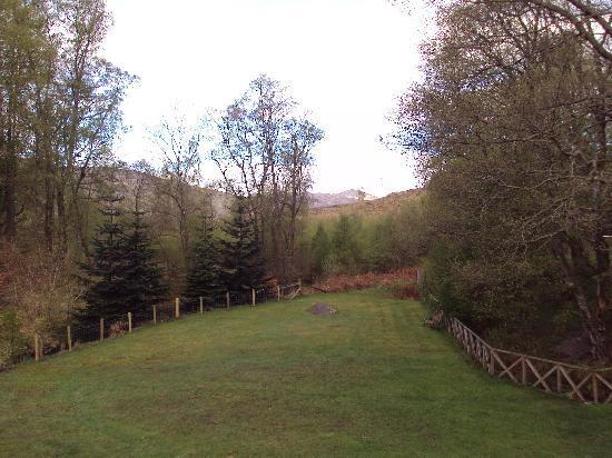 Killin Highland Lodges: View from the balcony
