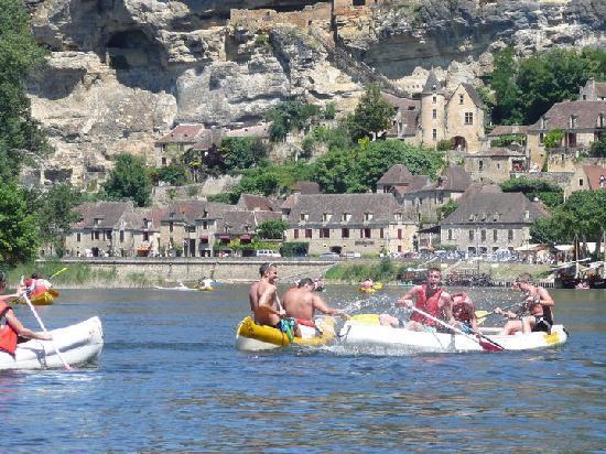 Domaine de Gavaudun : organisation canoe