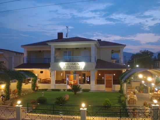 Nea Vrasna, Grécia: Pension Pfaffenhofen