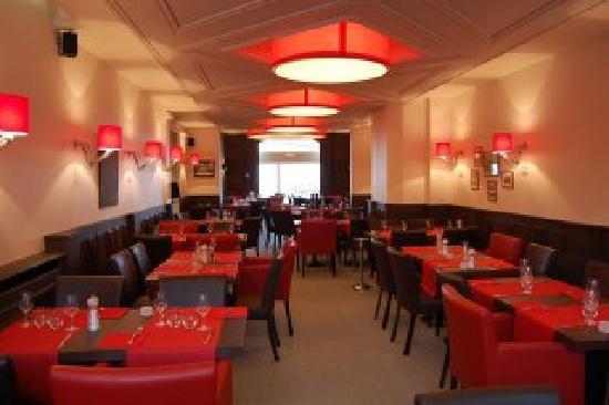 Le Bellevue Beaurivage : La salle de restaurant