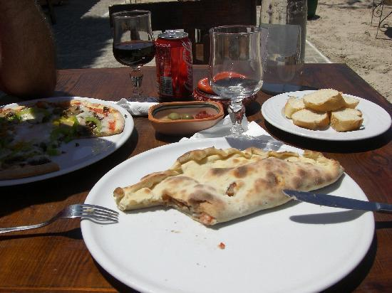 Green Palm: PIZZA RESTAU PLAGE