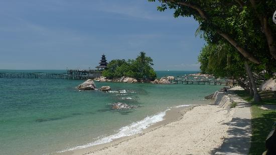 Turi Beach Resort: batam has such nice waters...