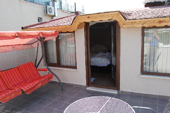 Hotel Seraglio: Terasse Suite 305