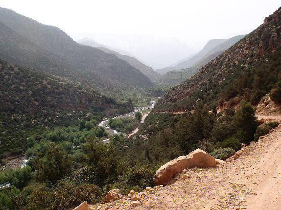 Kasbah Tamadot: Hiking