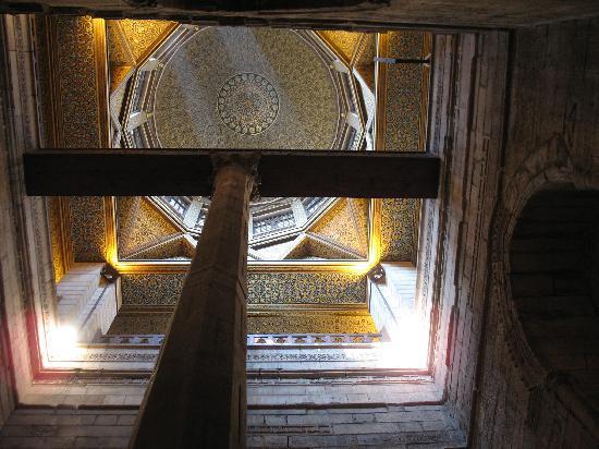 Old City (Coptic Cairo): The Nileometer Interior