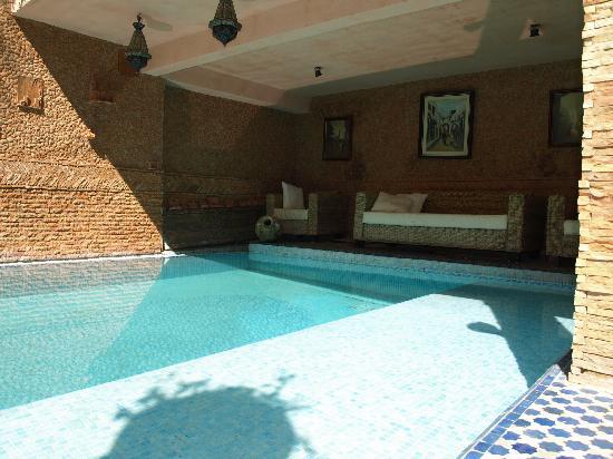 Riad Meknes: La piscine