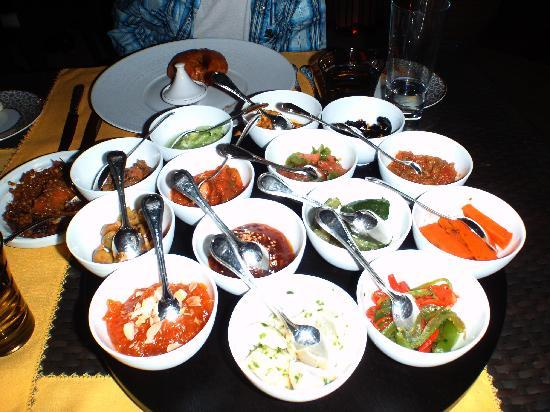 La Mamounia Marrakech : Moroccan salad
