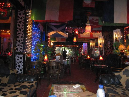 funky decor - picture of the genesis pub and restaurant, luxor