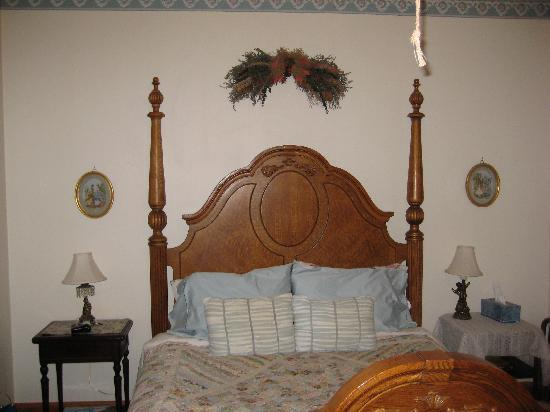 Margaretville, estado de Nueva York: Firm, comfortable bed.