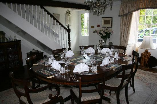 Dinning room at Thistleyhaugh