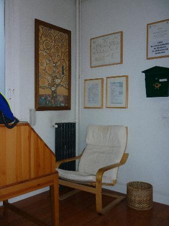 Hostal Santa Isabel: Recepcion