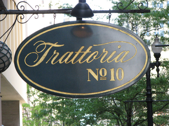 trattoria no 10 chicago downtown the loop