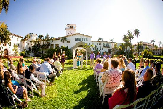 Santa Barbara County Courthouse Beautiful Wedding Site