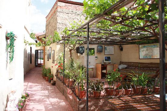 Urgup Inn Cave Hotel: Terrasse