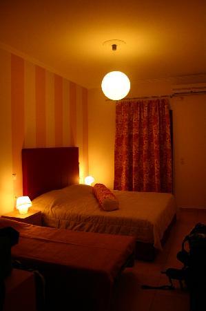 Antonia Hotel Santorini: Sleeping area