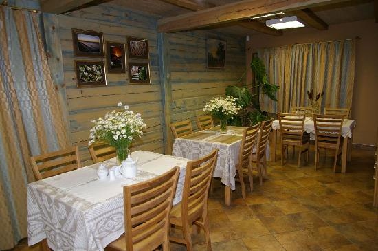 Arciau Juros: Breakfast room