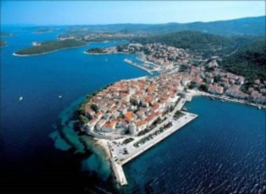 Korcula Waterfront Accommodation: Korcula Old Town less than a 10 minute walk