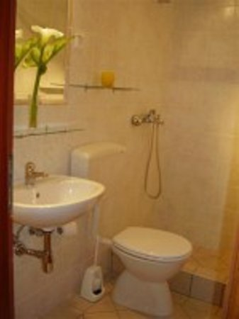 Korcula Waterfront Accommodation: Apartment bathroom