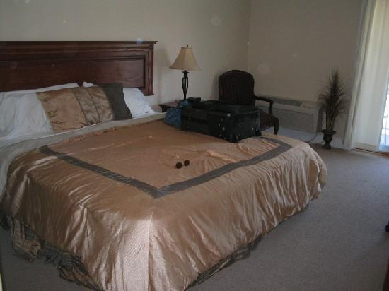 Bruce Anchor Motel and Cottage Rentals: King size bedroom 2