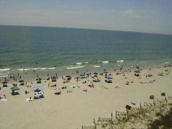 Surfside Beach Oceanfront Hotel: View of The Beach!