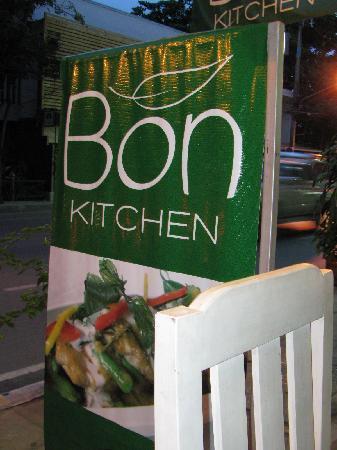 Bon Kitchen Restaurant : Entrance